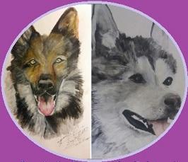 Beställ målning på din hund